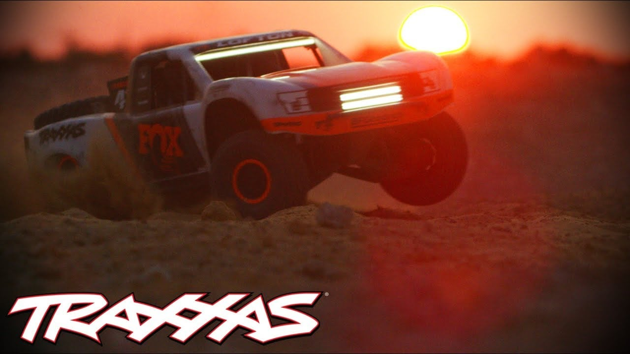 Shine On with this Traxxas UDR LED Light Kit [Video]