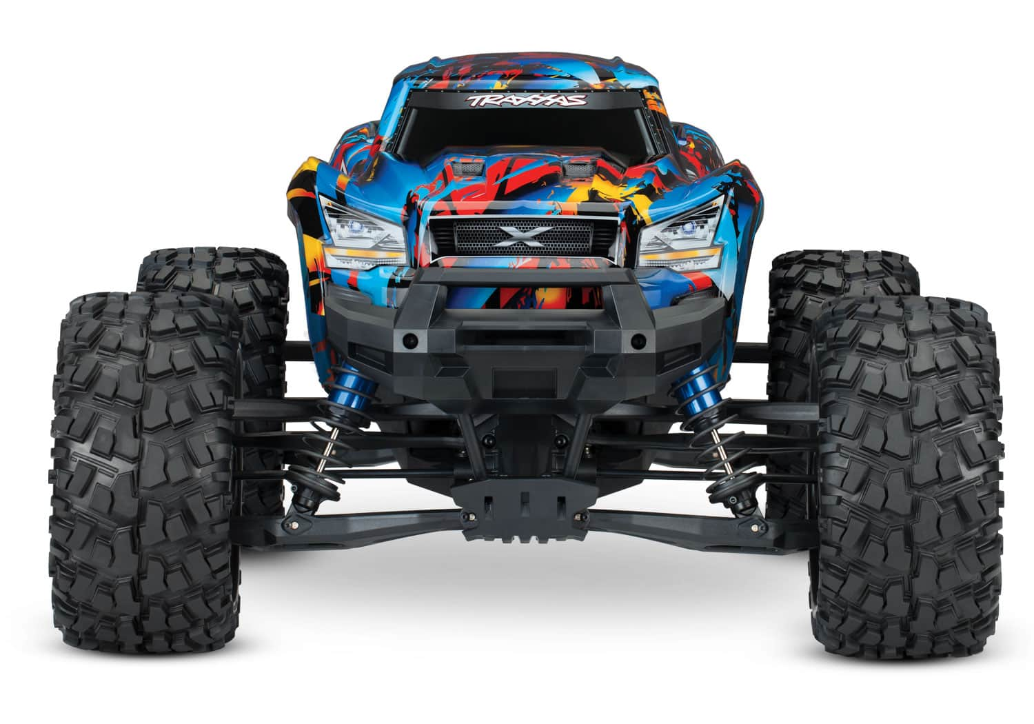 Traxxas X-Maxx Rock and Roll Graphics - Front