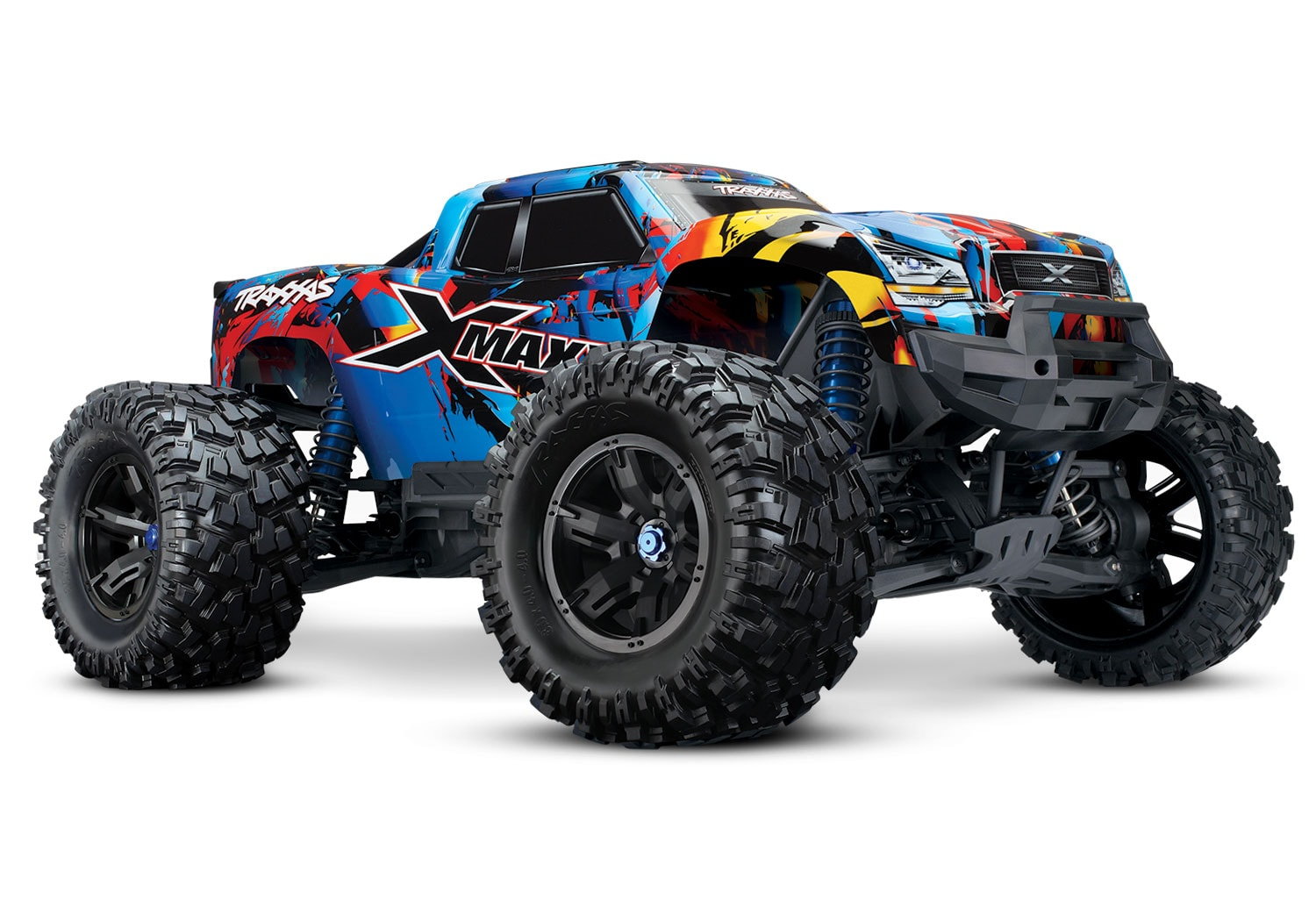 Traxxas Rocks n' Rolls with Their Latest X-Maxx Graphics Package