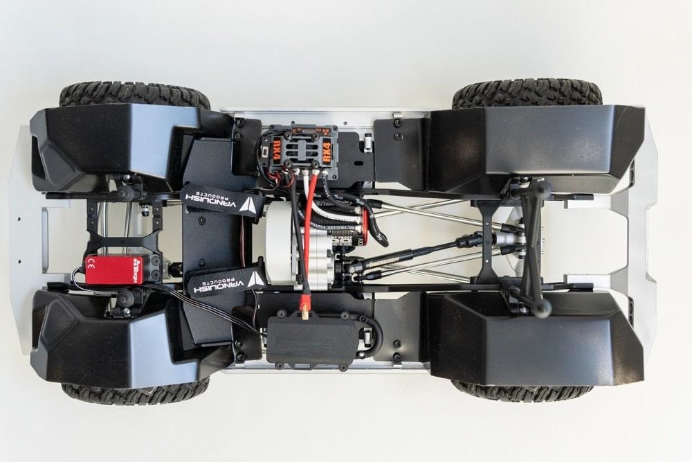 Vanquish VS4-10 Origin - Chassis Top