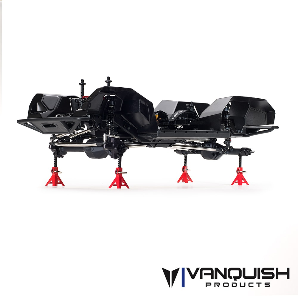 Vanquish VS4-10 PRO Kit - Black Anodized - Chassis