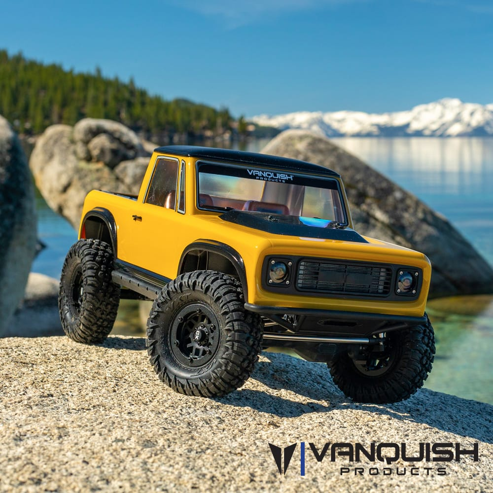 A New Weekend Project: Vanquish Products VS4-10 PRO R/C Trail Truck Kit