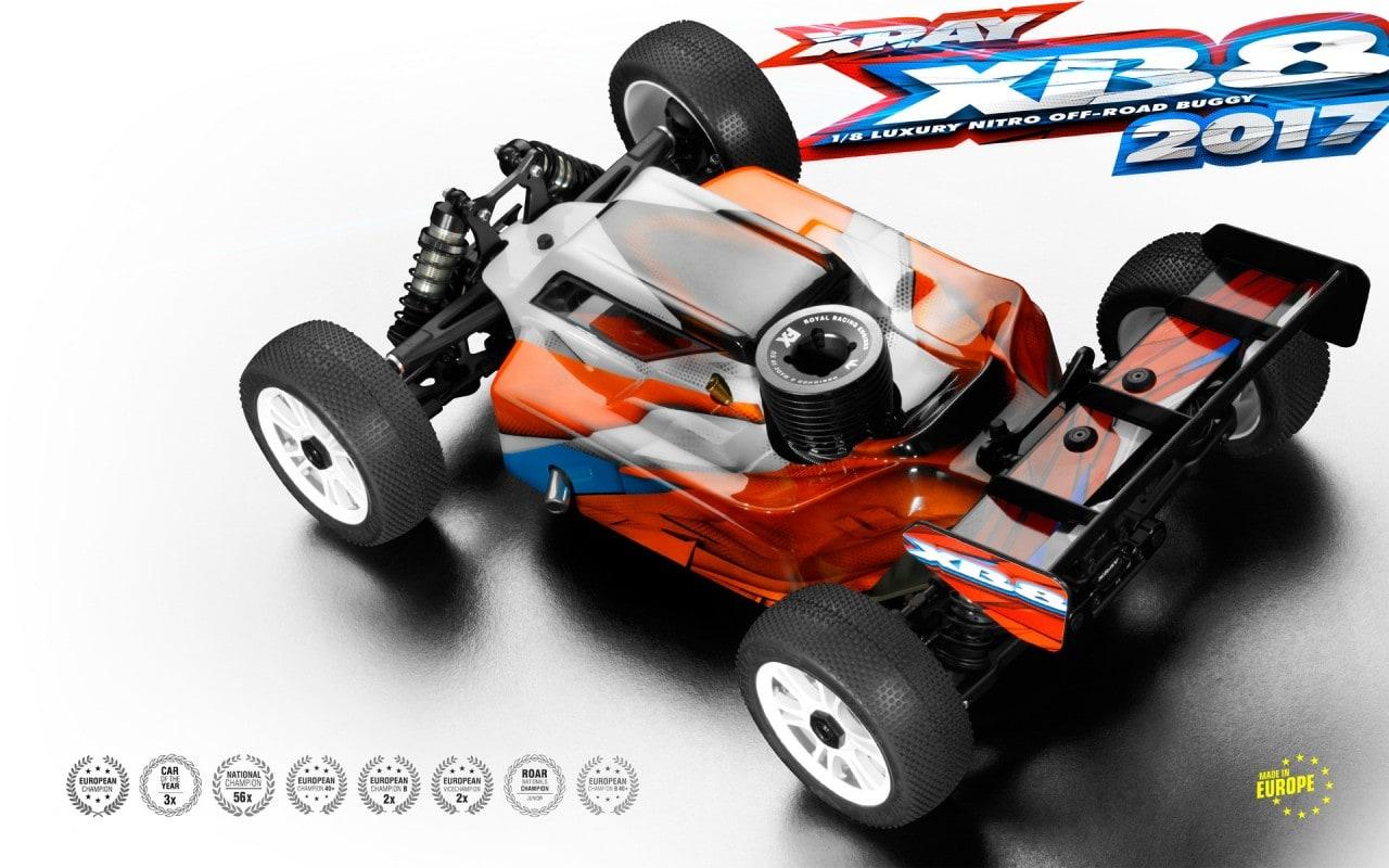 XRay XB8 Rear