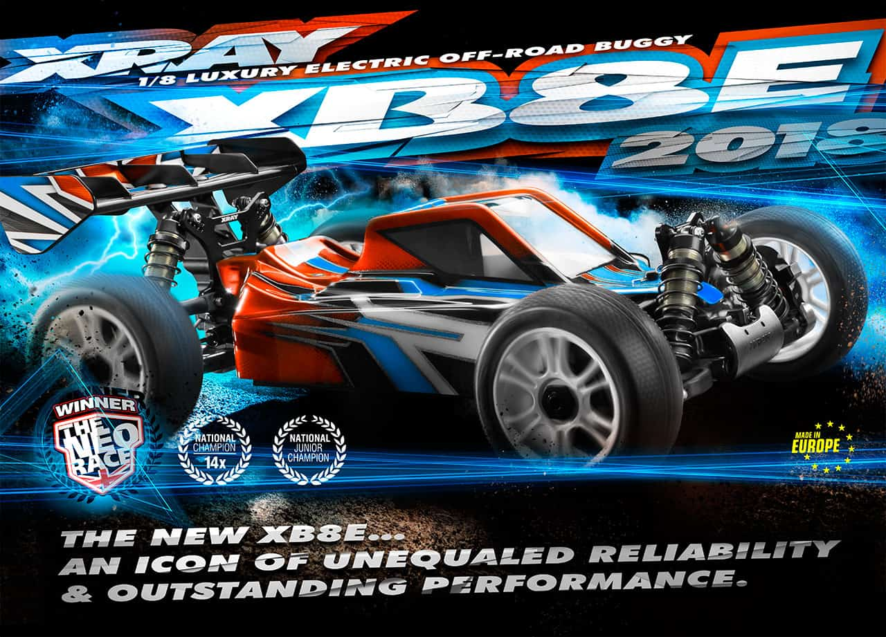 XRay Rolls Out an Updated XB8E Buggy
