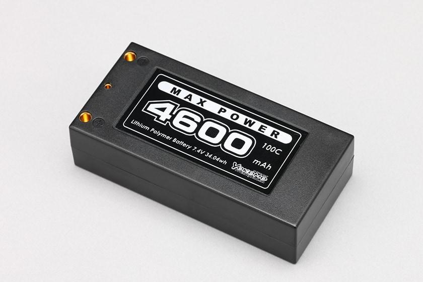 """Yokomo's Max Power 7.4V 4600mah """"Shorty"""" LiPo Battery"""