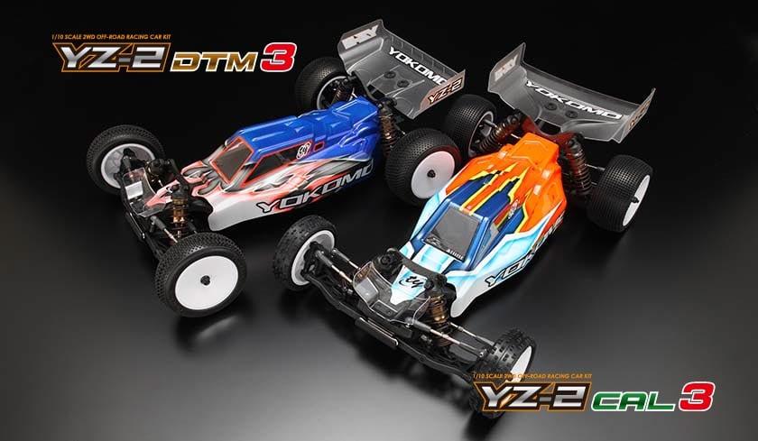Yokomo YZ-2 DTM3 & YZ-2 CAL3 1/10-scale Competition Buggies