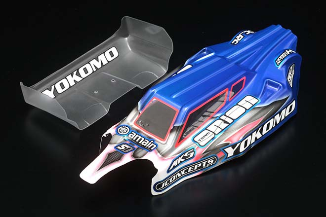 Yokomo YZ-2 Ryan Maifield Edition Body