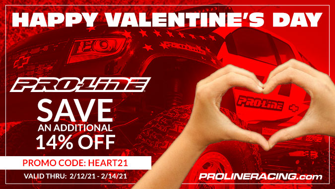 Show Your R/C Car Some Love (for Less) During Pro-Line's Valentine's Day Sale