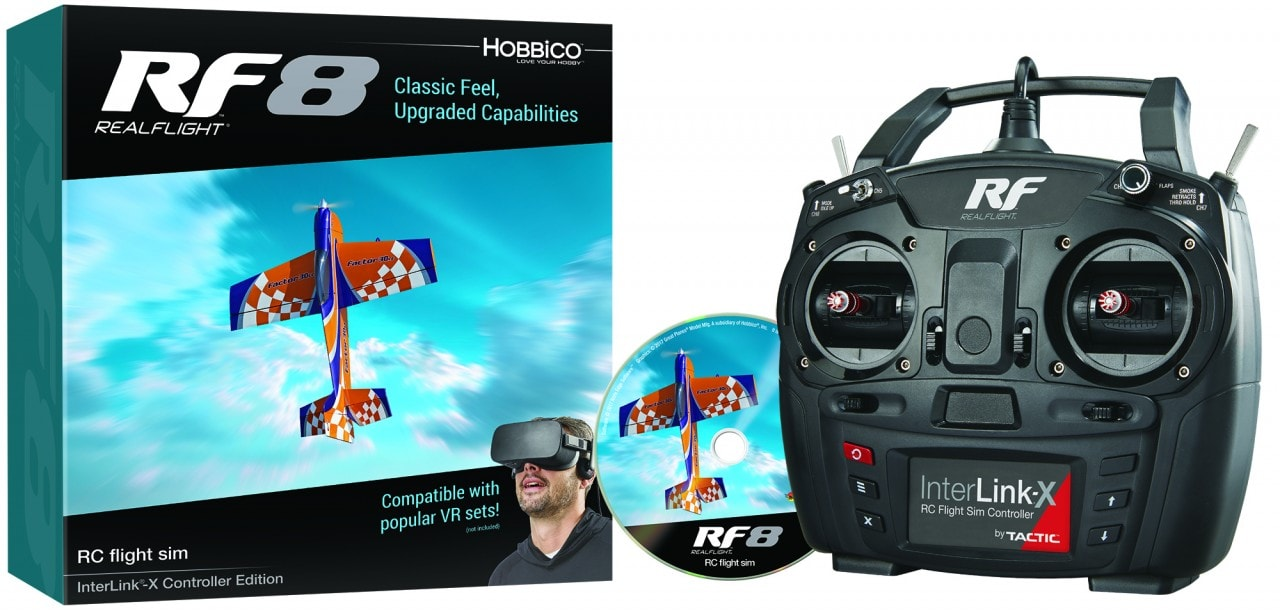 Learn to Fly From the Comfort of Your Own Home with RealFlight 8