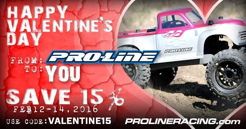 Give Your R/C Car Some Love with this Valentine's Day Discount from Pro-Line