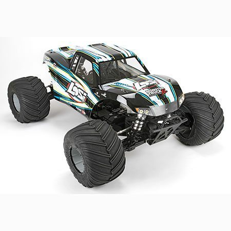 Losi's Monster Truck XL is a 1/5-scale, 4WD Beast