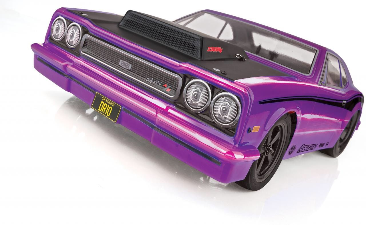 Team Associated's DR10 RTR Dragster is Now Available in Purple