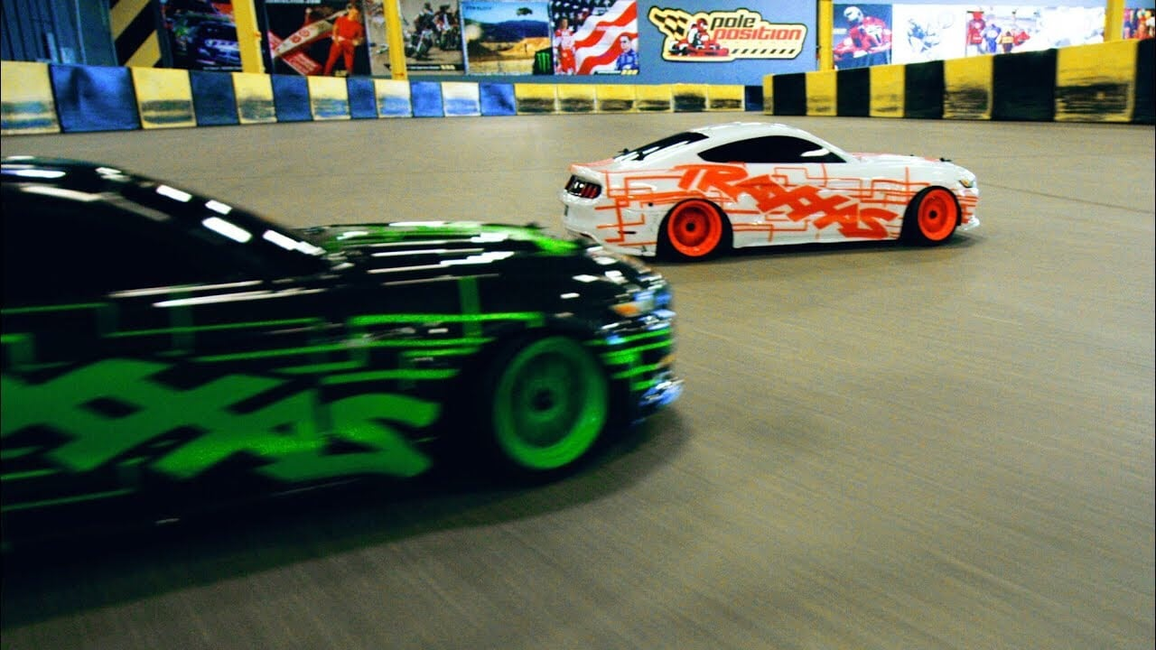 Drift Duel: Watch Two Traxxas Ford Mustang GTs Do Battle [Video]