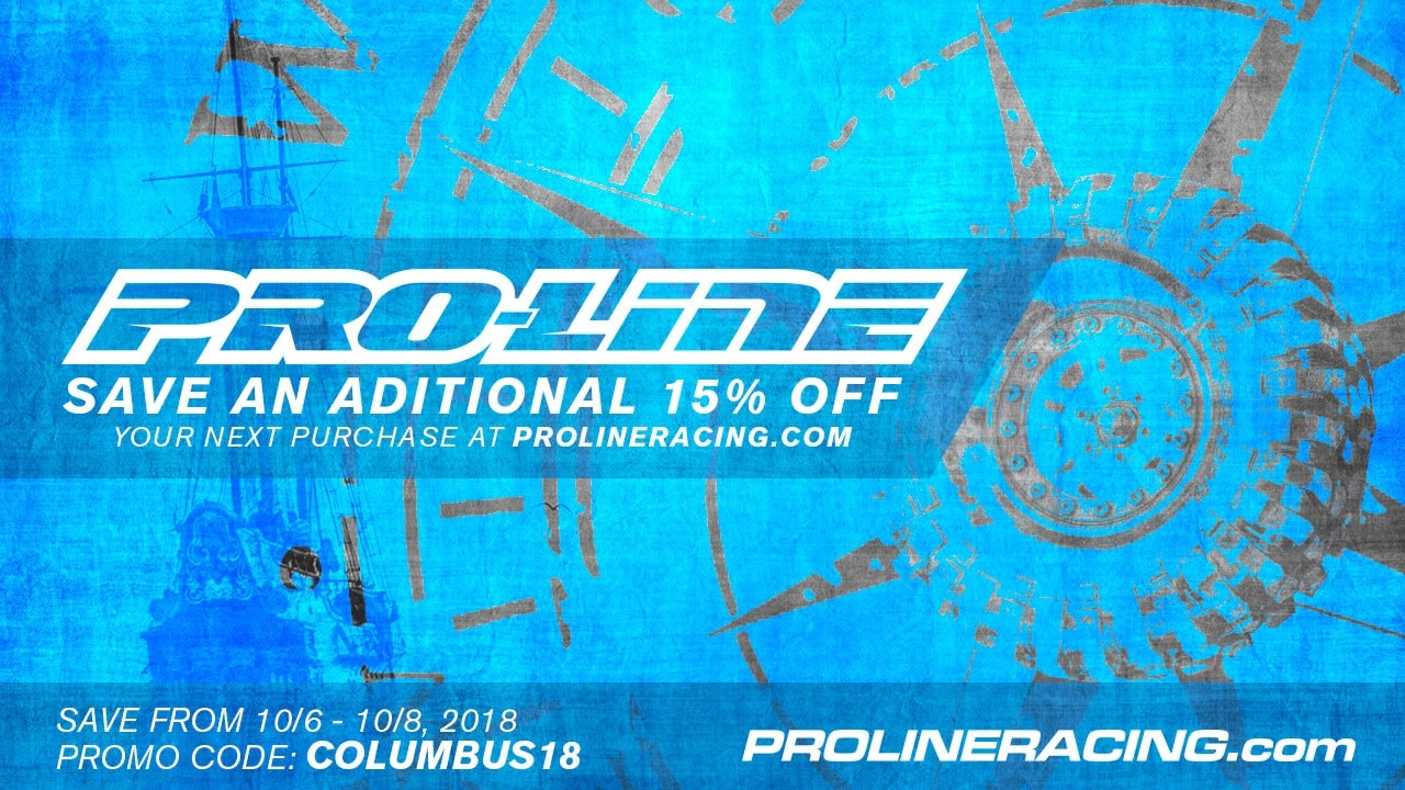Discover Extra Savings During Pro-Line's Columbus Day Sale