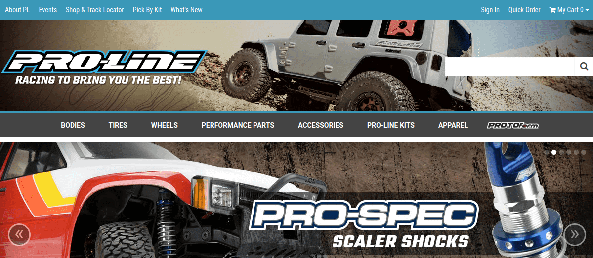 Check it Out: Pro-Line Launches a Refreshed Website