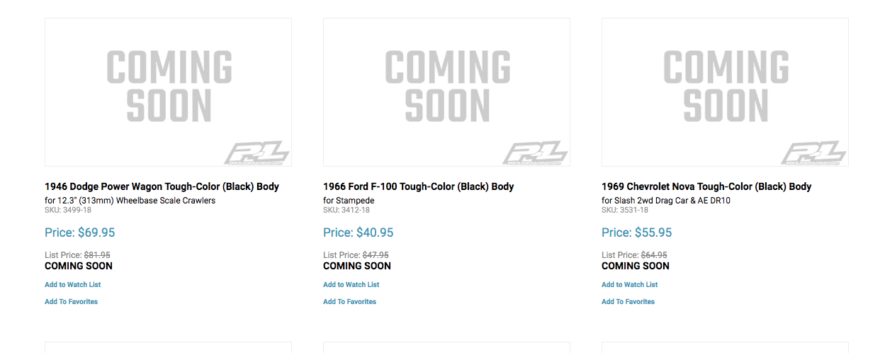 Pro-Line What's New - May 2020