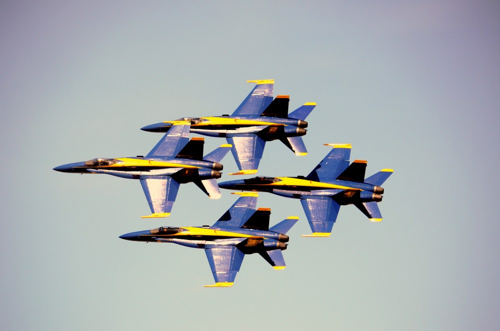 Blue Angels Soar at Andrews AFB Air Show