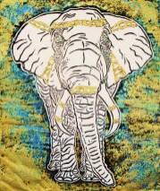 JBare-1.-Elephant-World-Lino-cut-print-8-x-9-one-fourth-inches-Framed-14-x-16-inches-170-