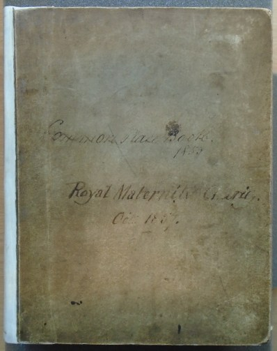 Front cover of Barnes' Case Book (archive reference S60/C).
