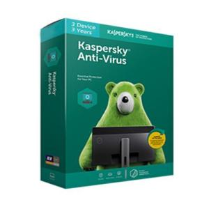 Kaspersky Antivirus 3 Users 3 Years