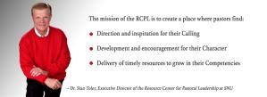 Resource Center for Pastoral Leadership - Dr. Stan Toler