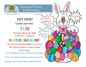 Easter Egg Hunt @ Richmond County Public Library | Warsaw | Virginia | United States