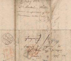 Meckel to John William Turner, Feb 1822 (RCSEd 9/1/1/1/5)