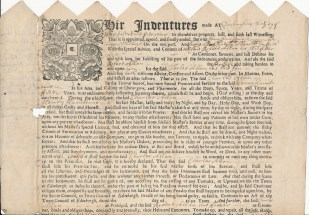 Indenture of Apprenticeship (RCSEd 5/1)