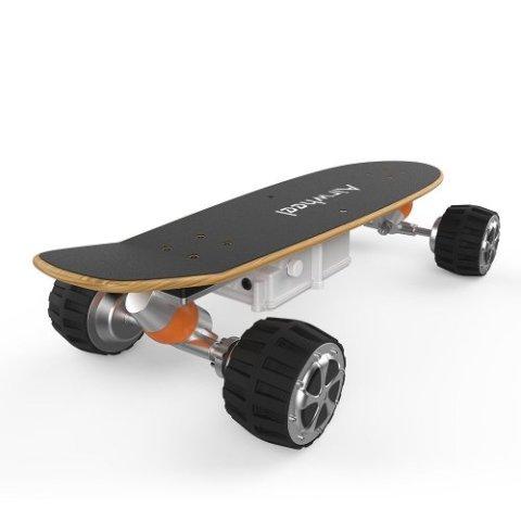 M3 Skateboard 162.8WH Black Preuzeto
