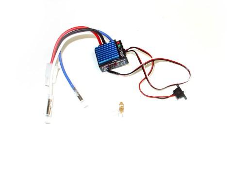 Robitronic Speedstar 2 ESC for Brushed Motors with Foward/Reverse 12 Turn