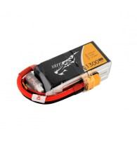 Tattu 1300mAh 14.8V 75C Lipo baterija