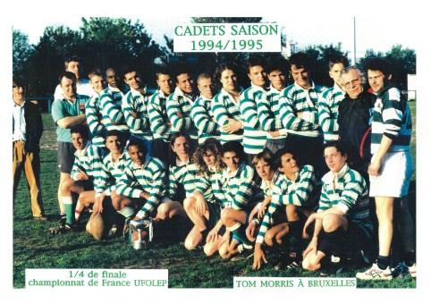 Cadets 1994-1995
