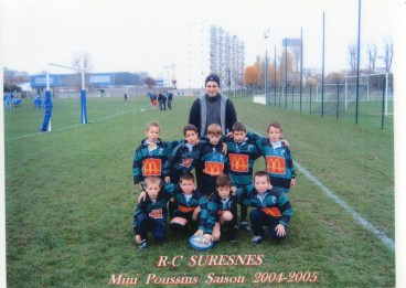 Mini-Poussins 2004-2005