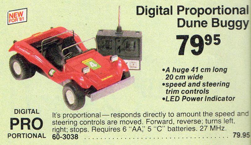 Tandy/Radio Shack Dune Buggy (1981) - R/C Toy Memories