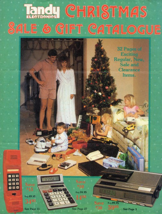 Tandy Christmas Sale & Gift Catalogue, 1987