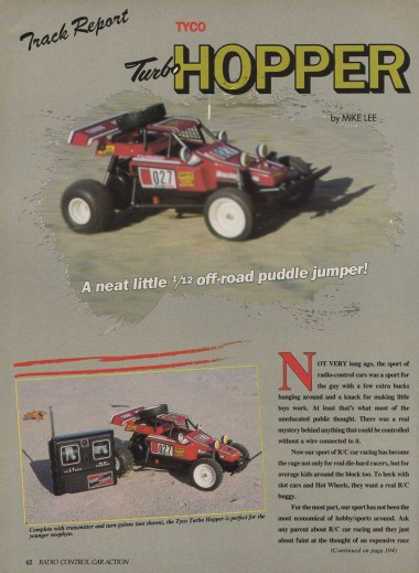 Tyco Turbo Hopper