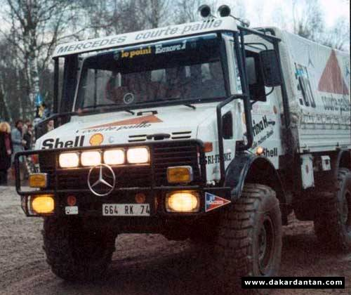 1982 Paris Dakar Winning Mercedes Unimog