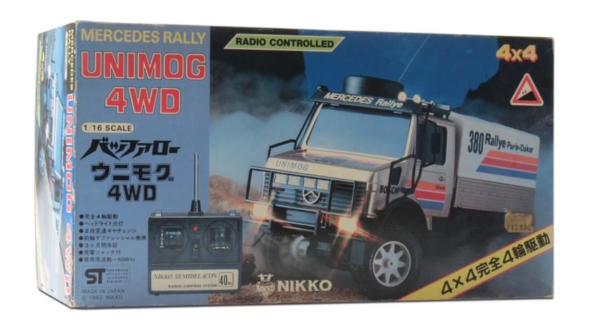 Nikko Mercedes 4WD Unimog
