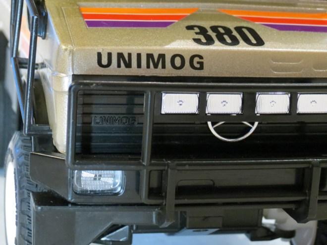 Nikko Mercedes Rally Unimog 4WD