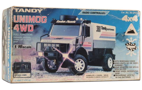 Tandy/Radio Shack Unimog 4WD