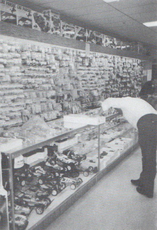 Ron Sheldon's Hobby Shop in San Jose, USA in 1987