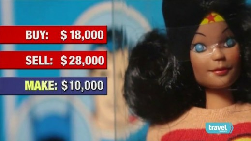 $28,000 Wonder Woman figure on Toy Hunter