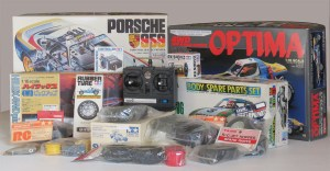 A random selection of vintage R/C items collected over the years.