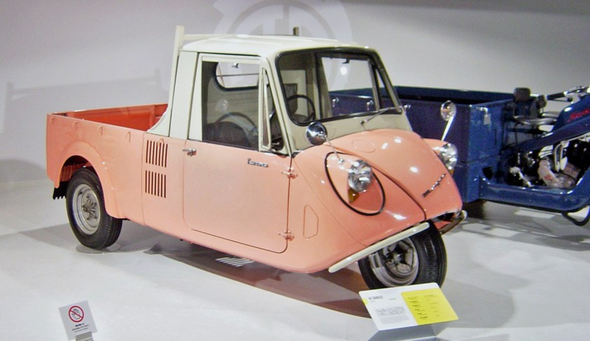Mazda K360 - inspiration for the Tamiya Frog?