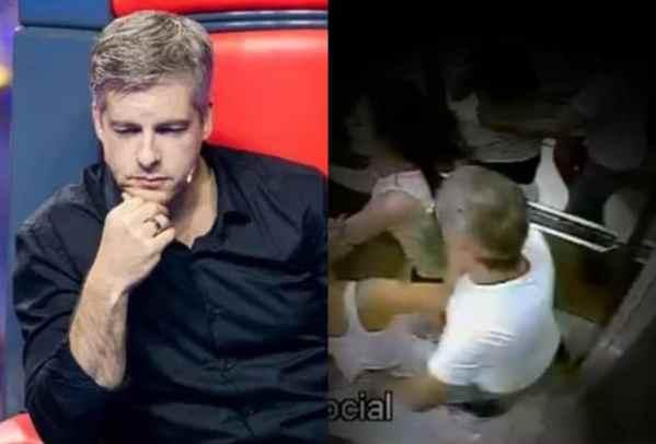 Record exibe momento da agressão do sertanejo Victor contra a mulher em 2017   RD1