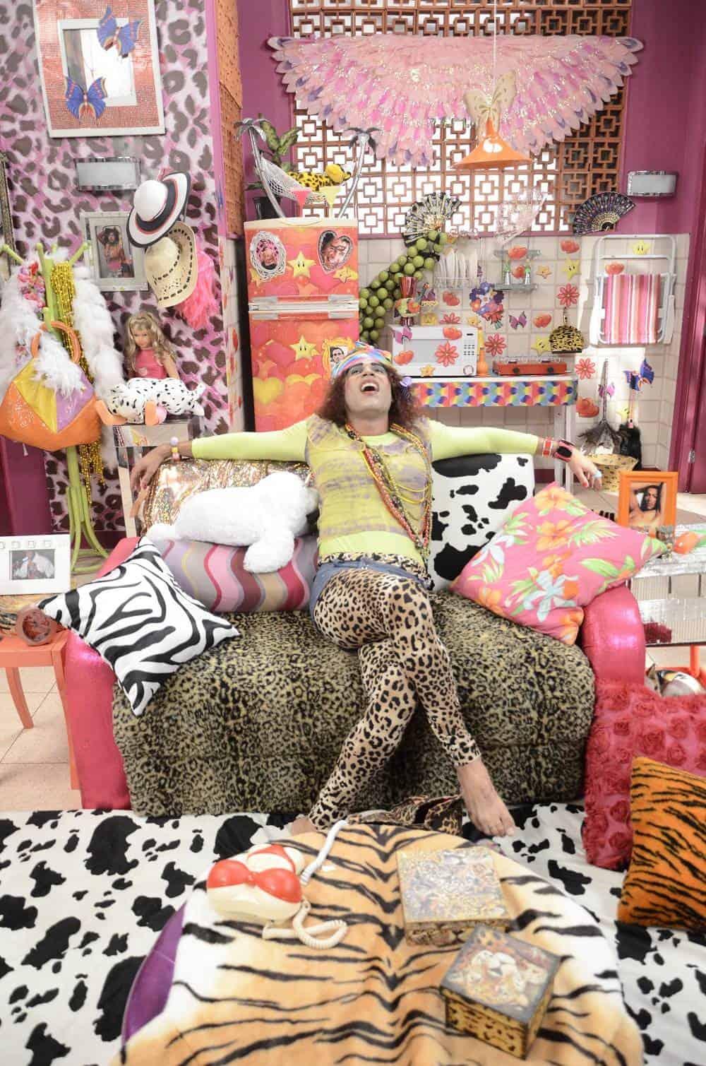 """Valéria mostrará como é sua vida no """"Zorra Total"""""""