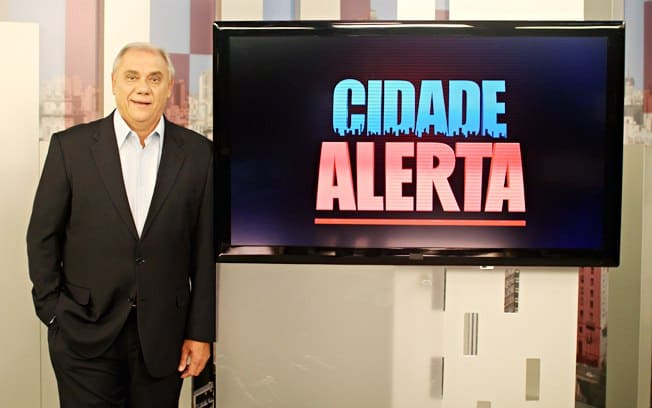 """Marcelo Rezende comanda o """"Cidade Alerta"""""""