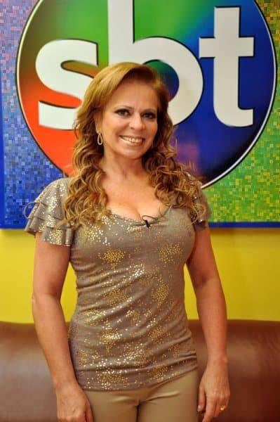 A apresentadora Christina Rocha