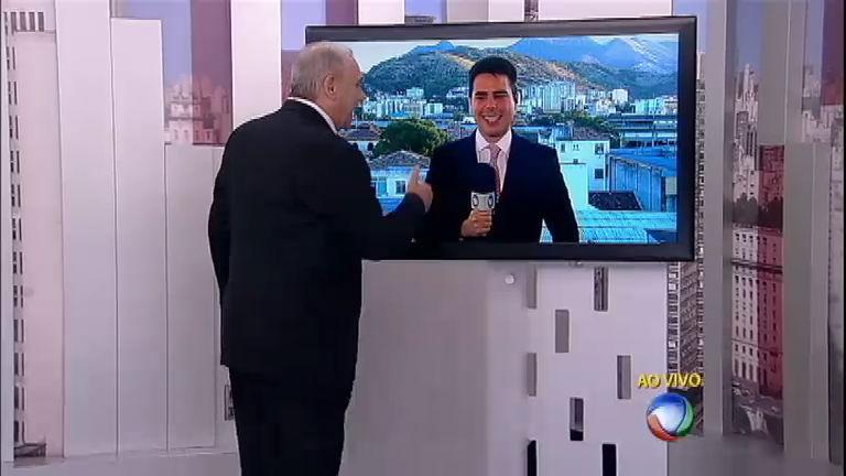 Marcelo Rezende e Luiz Bacci no Cidade Alerta