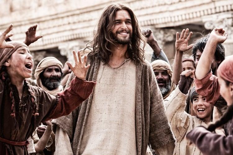 """O Jesus da série americana """"The Bible"""", que também será exibida pela Record"""